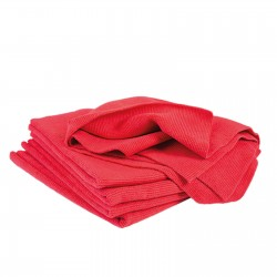 CARTEC MICFROFIBRE ULTRA SOFT CLOTH RED